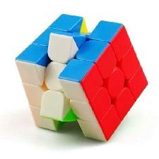 HJXDtech - 3x3x3 Magic Cube Ultra-Smooth Puzzle Colorato Sticker Farbe