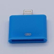 30 Pins Naar Lightning compatible (8 Pin) Kabel Adapter - Voor Ipad / iPhone - Blauw