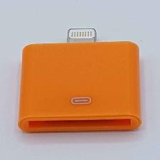 30 Pins Naar Lightning compatible (8 Pin) Kabel Adapter - Voor Ipad / iPhone - Oranje