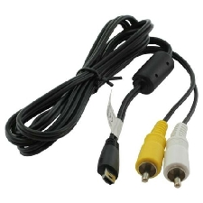 OTB AV Audio Videokabel Video Cable for Canon Ixus 140