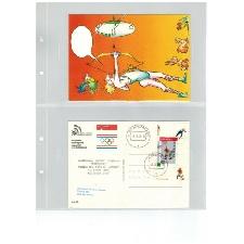 Nederland N H B Nederlandse Handboog Bond op 2 kaarten zie afbeelding (vol25)