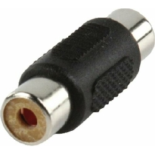 AV RCA Audio Stereo Video Female to Female Coupler Adapter Connector.