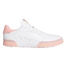 adidas golfschoenen Adicross Retro dames leer wit/roze maat 37 1/3