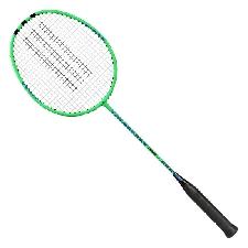 adidas badmintonracket 68,5 cm RVS zwart/groen