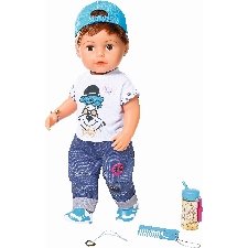 Pop Soft Touch Brother Baby Born 43 cm Babypop Zapf Creations Baby Born