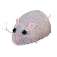 Gerardo's Toys interactieve mini muis 7 cm grijs