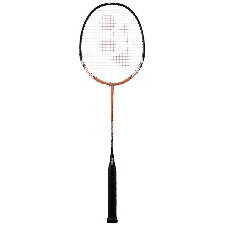 Yonex badmintonracket Muscle Power-2 aluminium oranje/zwart