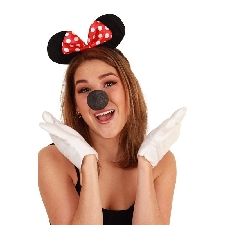 Mini muis verkleedset voor dames
