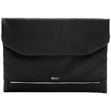 Swiss Peak laptophoes sleeve 15.6 inch polyester zwart