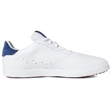 adidas golfschoenen adicross Retro wit/zilver/indigo mt 43 1/3