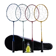 PERFLY Badmintonracket set BR100 Family