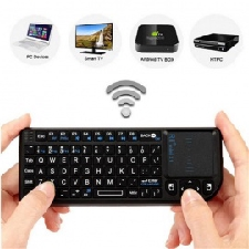 Rii RT-MWK01 (X1) Mini 2.4ghz Draadloos Toetsenbord Met Muis & Touchpad - Zwart