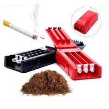 Mini Drie Buizen Sigaret Extractor Handmatige Tabak Walsmachine - Willekeurige Kleur