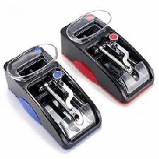 1 st elektrische gemakkelijk automatische sigaret rolling machine tabak injector maker roller sigaret roller rood ONS