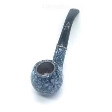 Klassieke Heren Sigaretten Pot Pijp Natuurlijke Handgemaakte Harsenpijp - Marmer Kleur