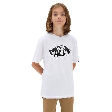 VANS Otw T-shirt Voor Kinderen (8-14+ Jaar) (white-black) Boys Wit, Maat XL