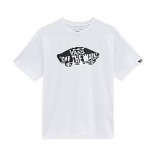 VANS Otw T-shirt Voor Kinderen (8-14+ Jaar) (white-black) Boys Wit, Maat M