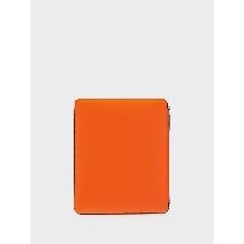 Comme Des Garçons Wallet Laptophoes met colourblocking - Rood