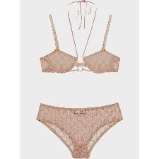 Gucci Tulen lingerie set - Nude