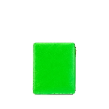 Comme Des Garçons Wallet Laptophoes met colourblocking - Groen