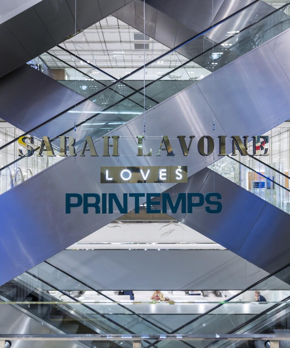 Maison Sarah Lavoine at the Printemps