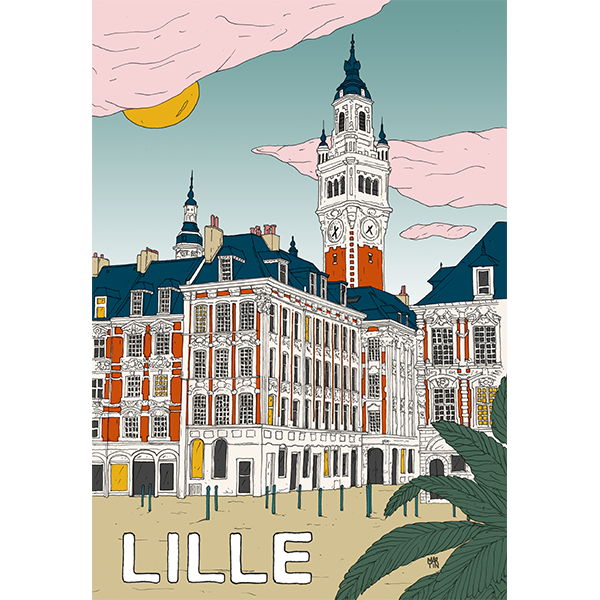 Affiche Lille