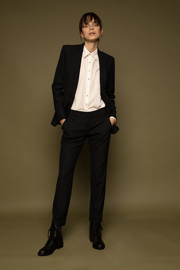 Pantalon de costume Claudie
