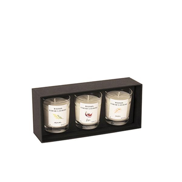Escapade Candle Set