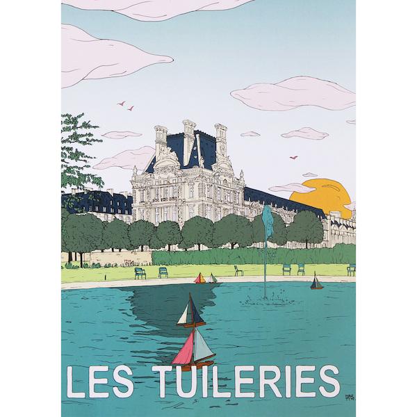Poster Tuileries