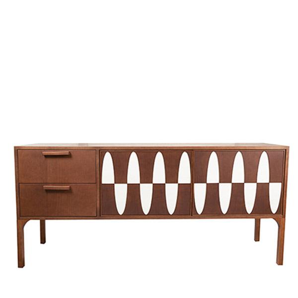 Ecailles Row Cabinet