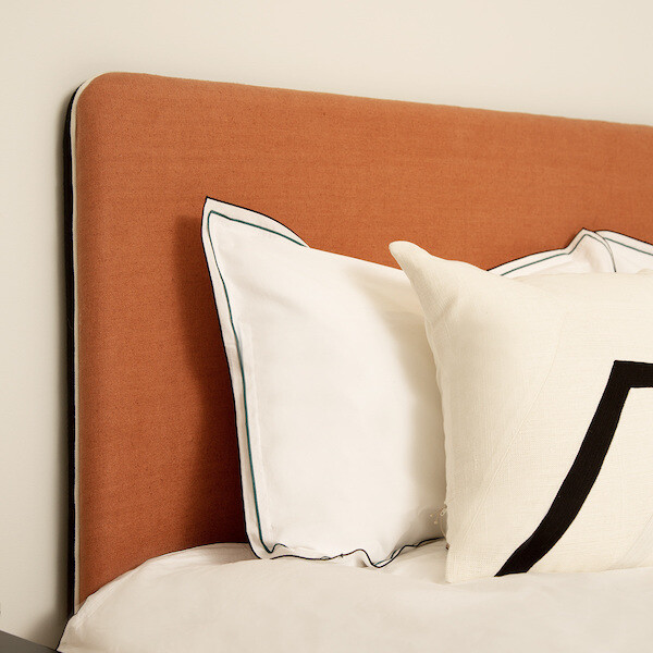 Headboard Linen Double Jeu