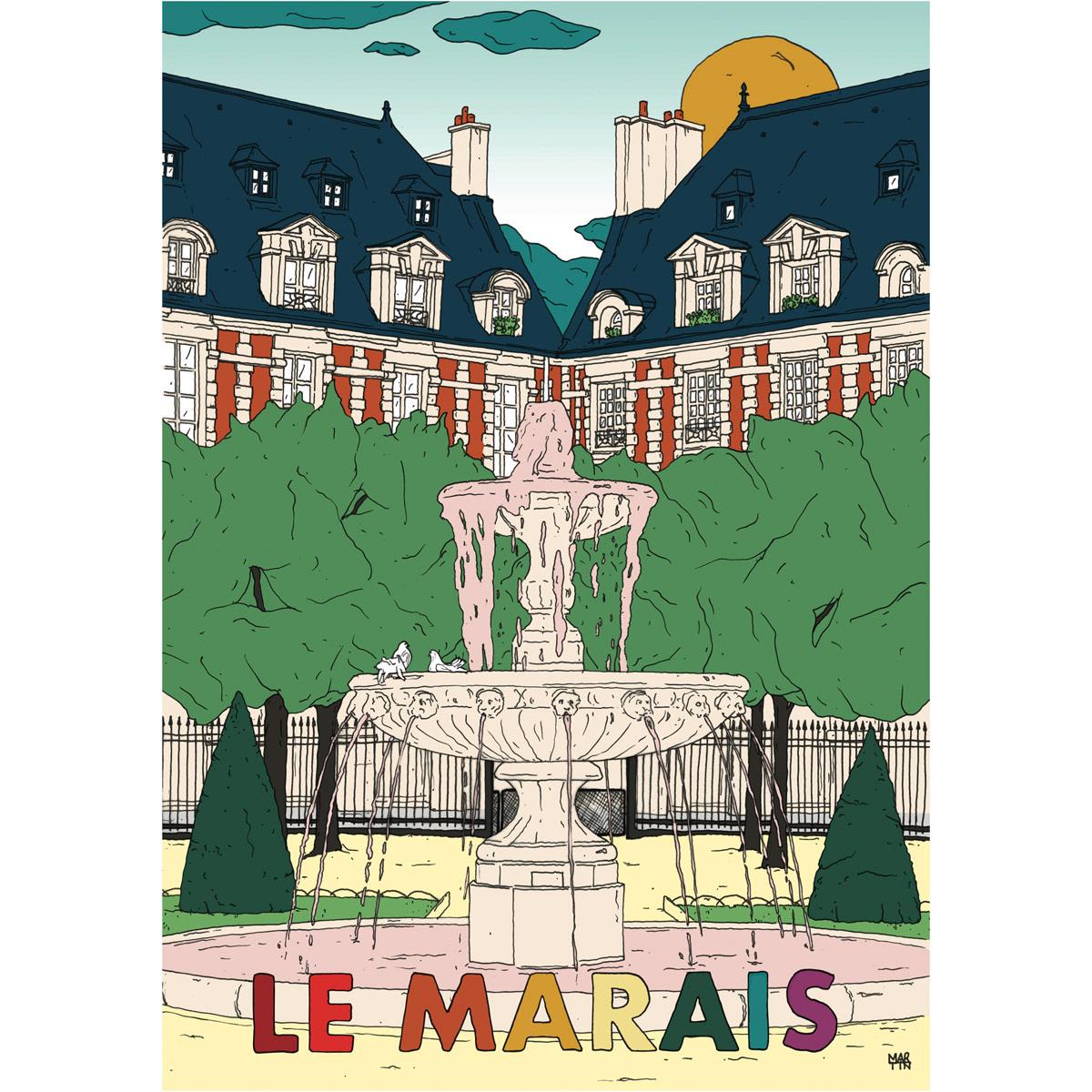 Poster Le Marais