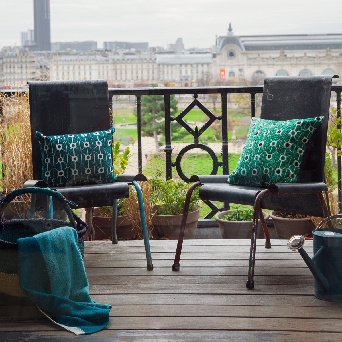 Tuileries Cushion