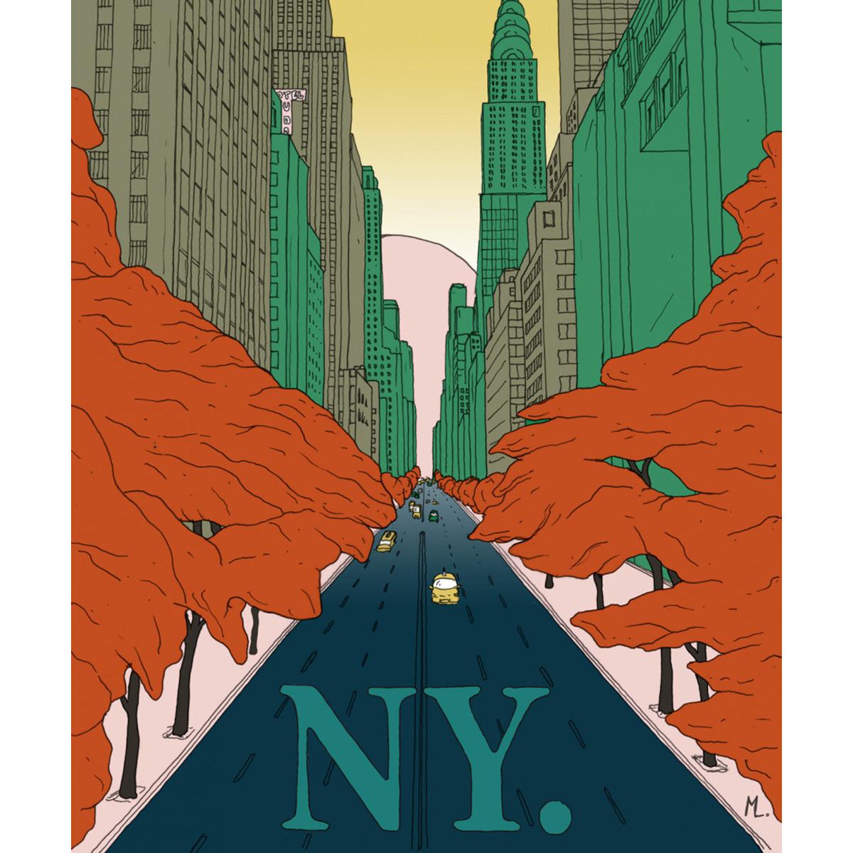 Affiche New-York