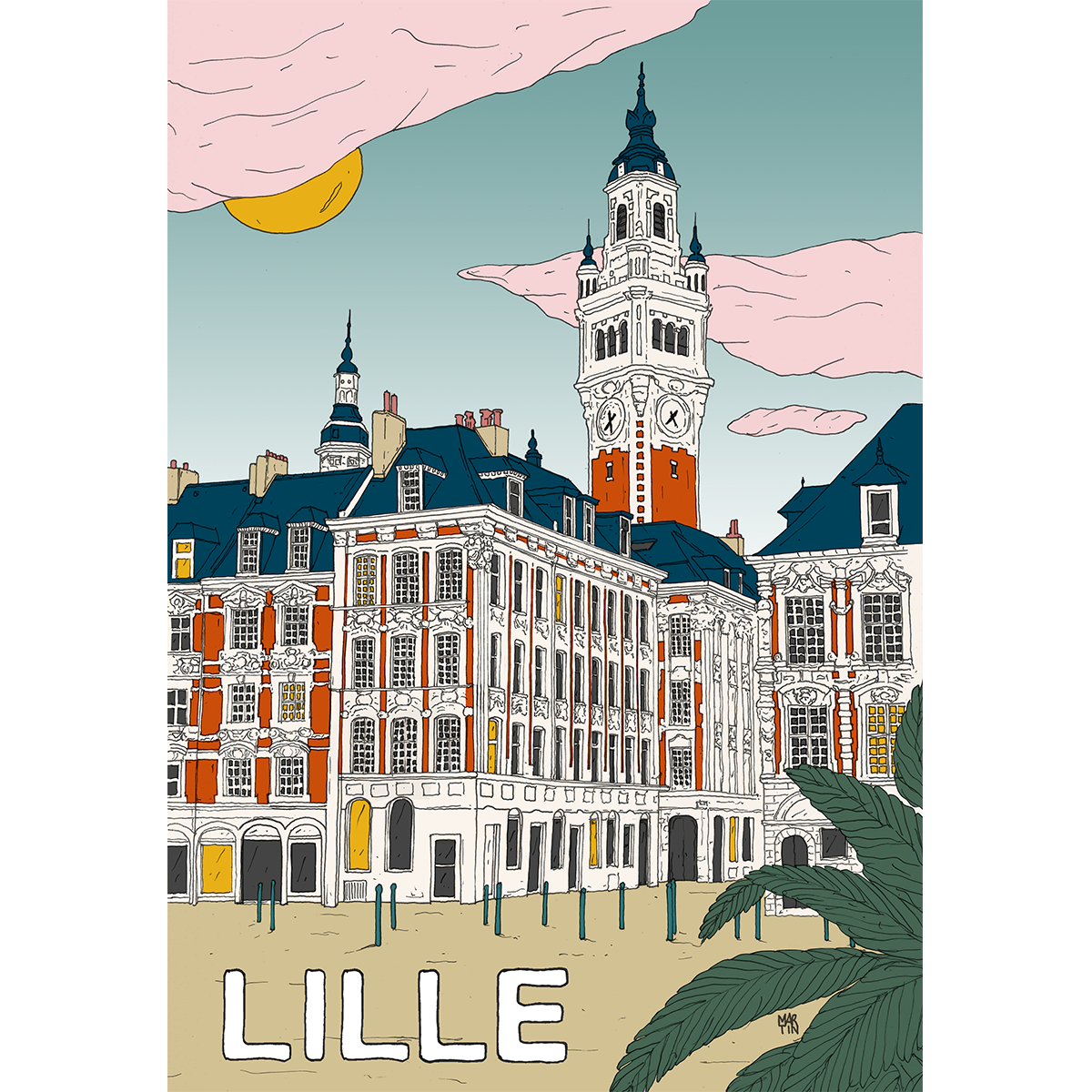 Poster Lille