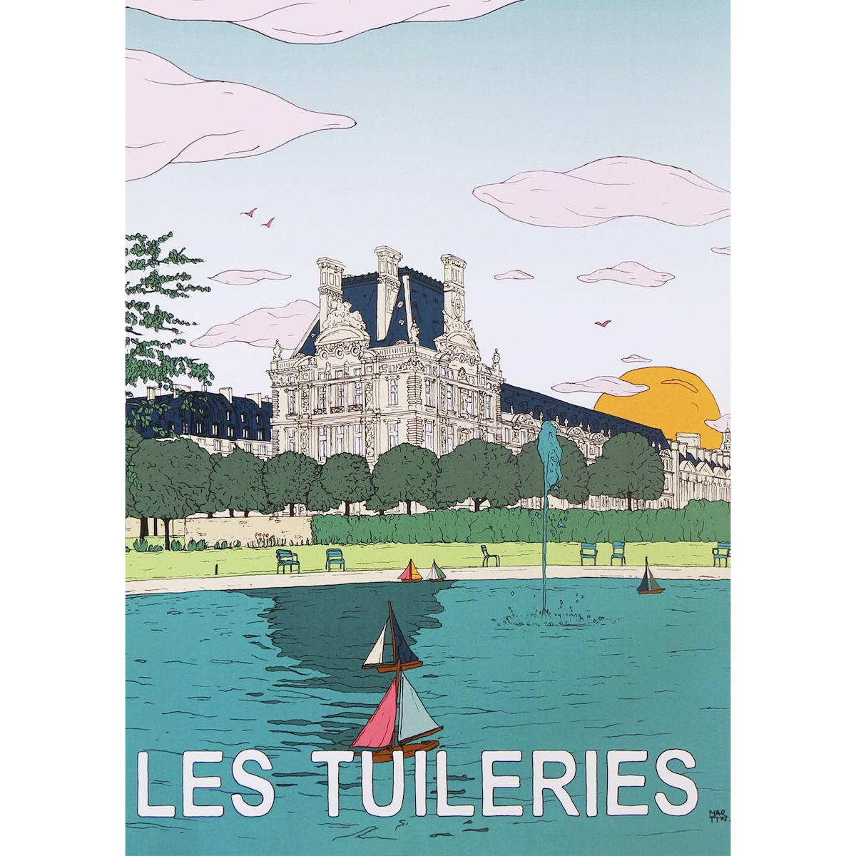 Affiche Tuileries