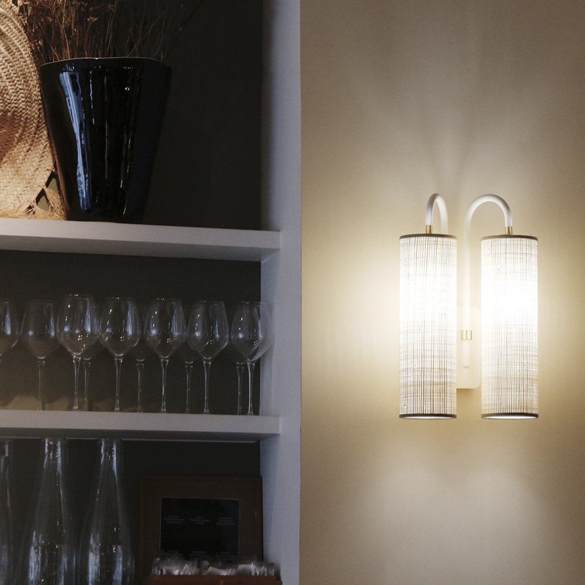 Double Tokyo Wall Lamp