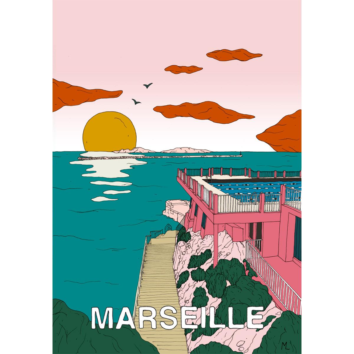 Poster Marseille