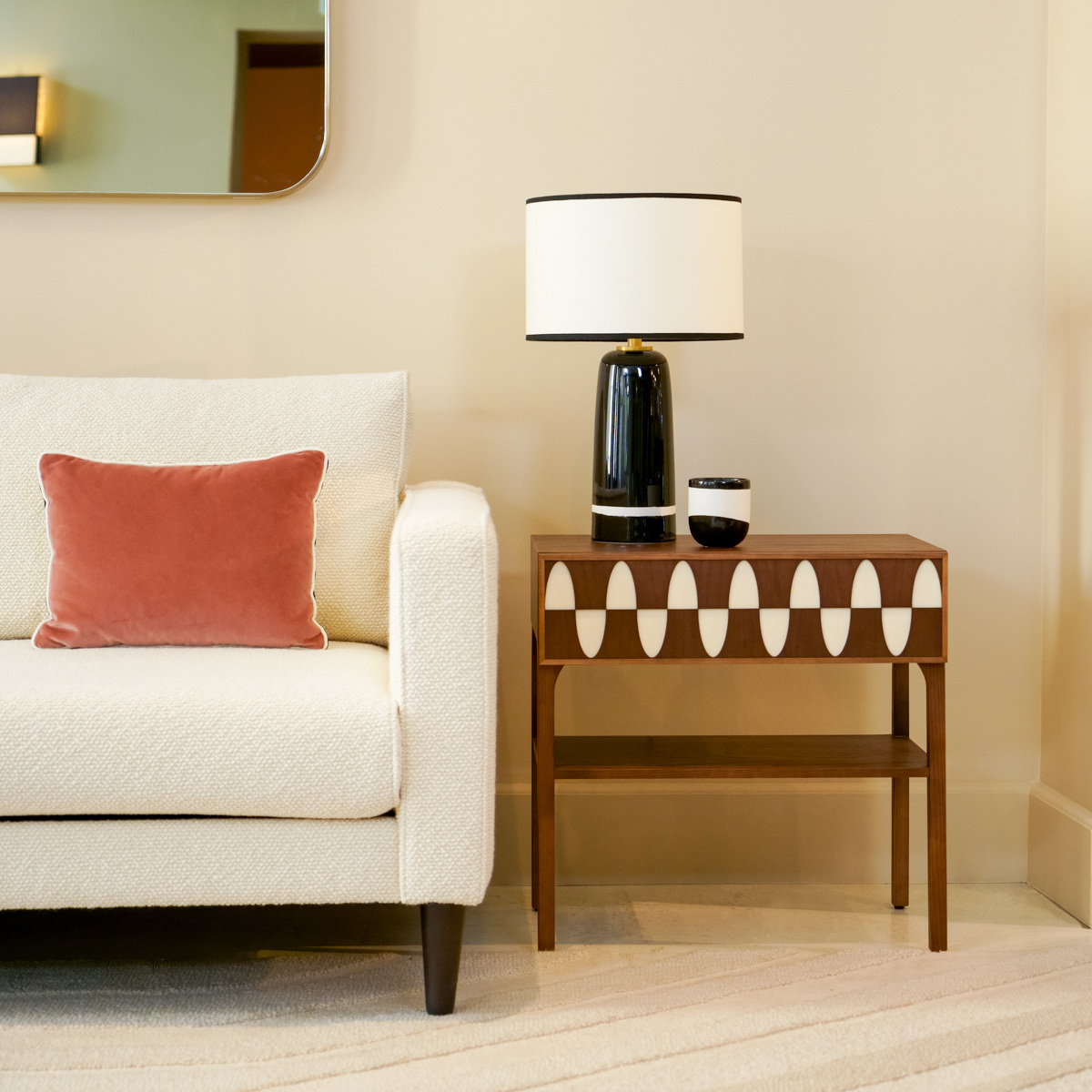 Ecailles Side Table
