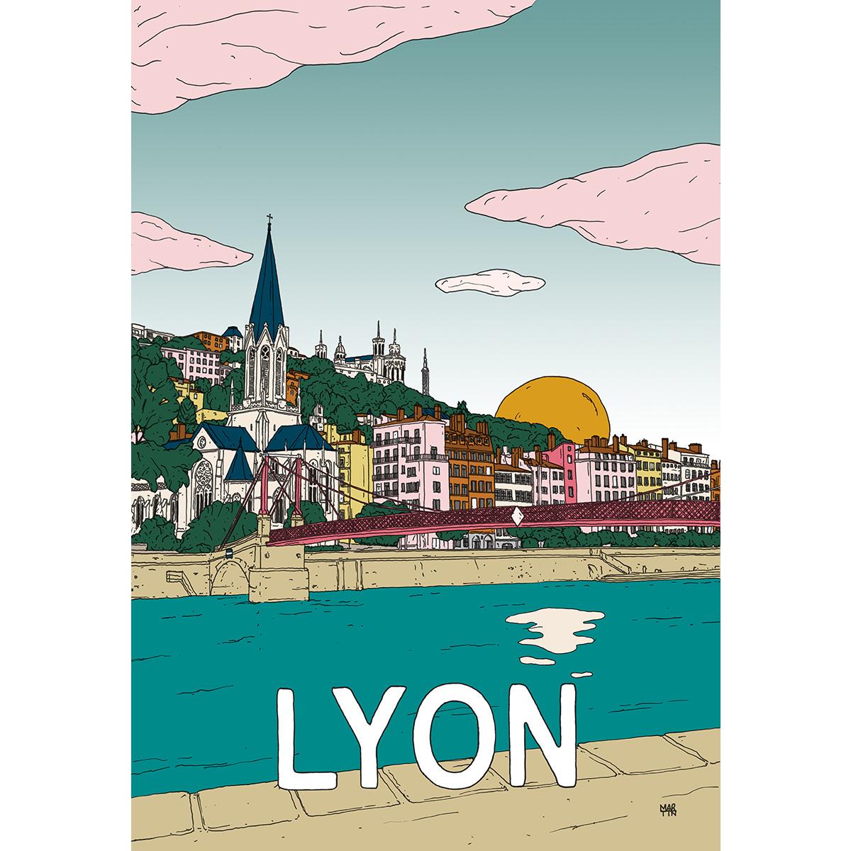 Poster Lyon