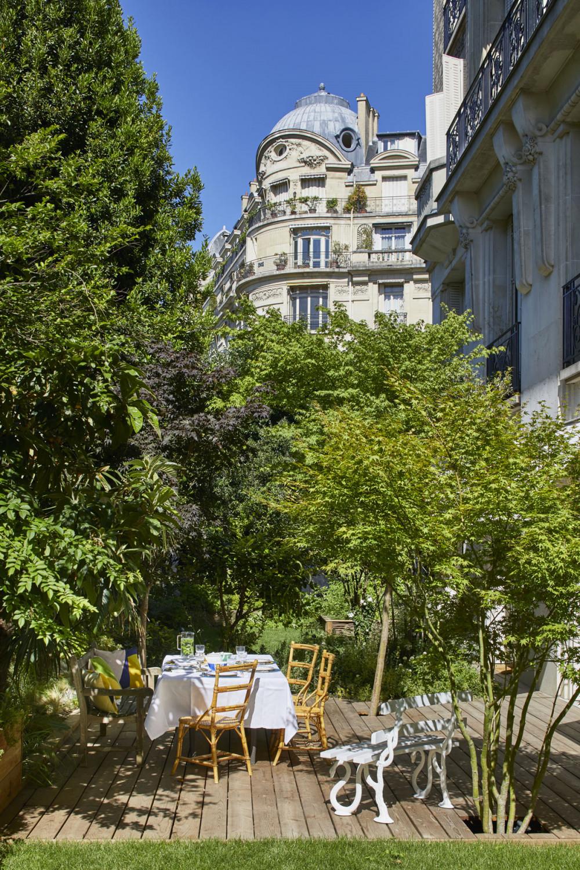 Rez-de-jardin Parisien