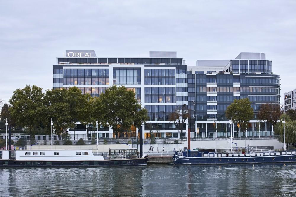 Bureaux l'Oréal Luxe, Seine 62