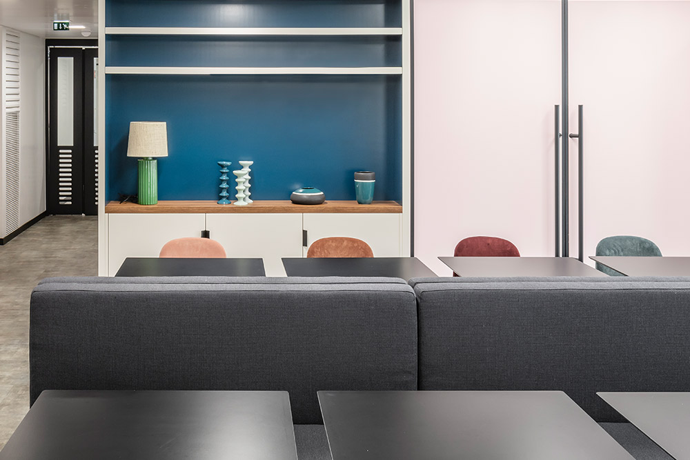 Bureaux Maje, Paris 2e