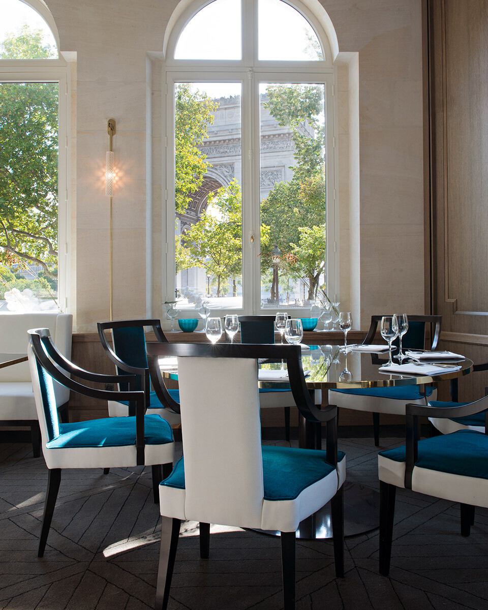 Restaurant Victoria, Paris 16e.